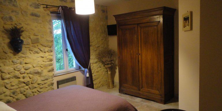 chambre lavande La Bastide de Vallon